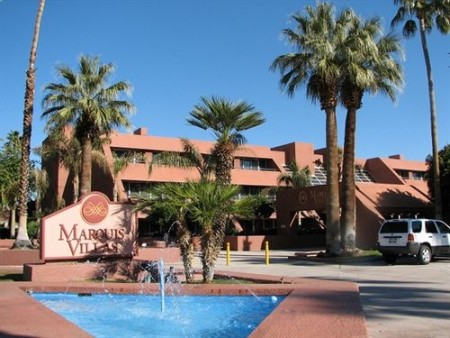 Upscale Marquis Villas located near downtown Palm Springs.