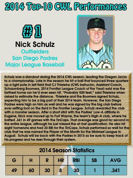 #1 - Nick Schulz