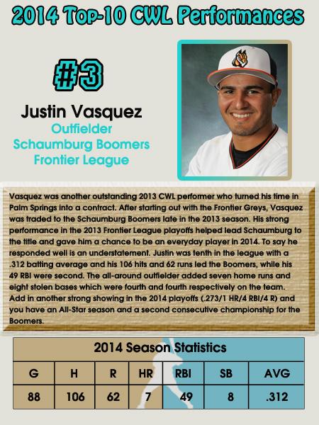 #3 - Justin Vasquez