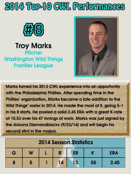 #8 - Troy Marks